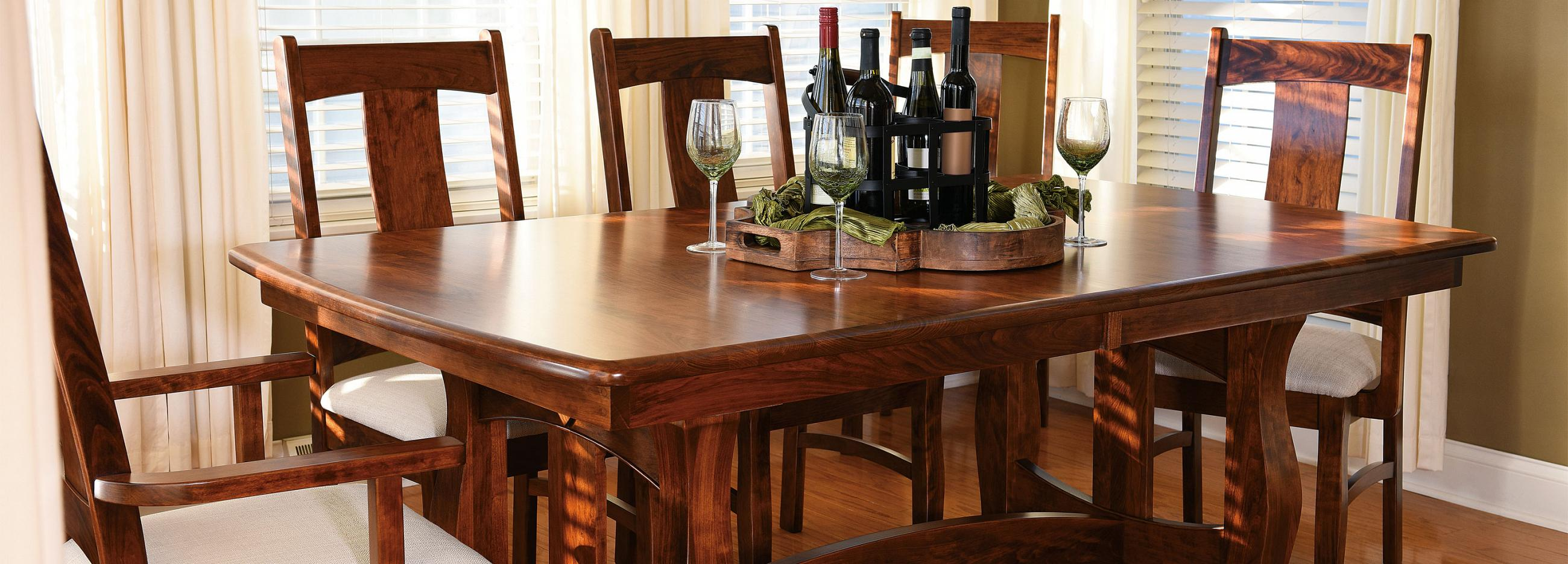 Northern Indiana Woodcrafters Dining Room Furniture