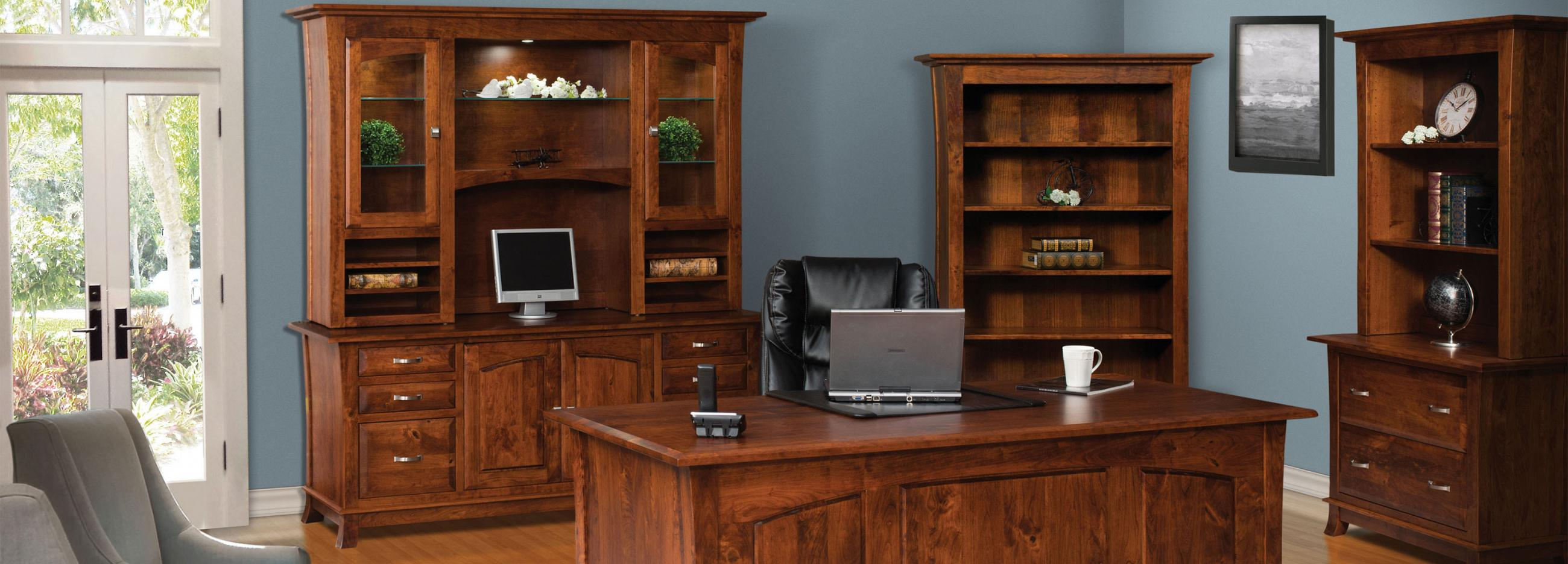 Northern Indiana Woodcrafters Office Furniture