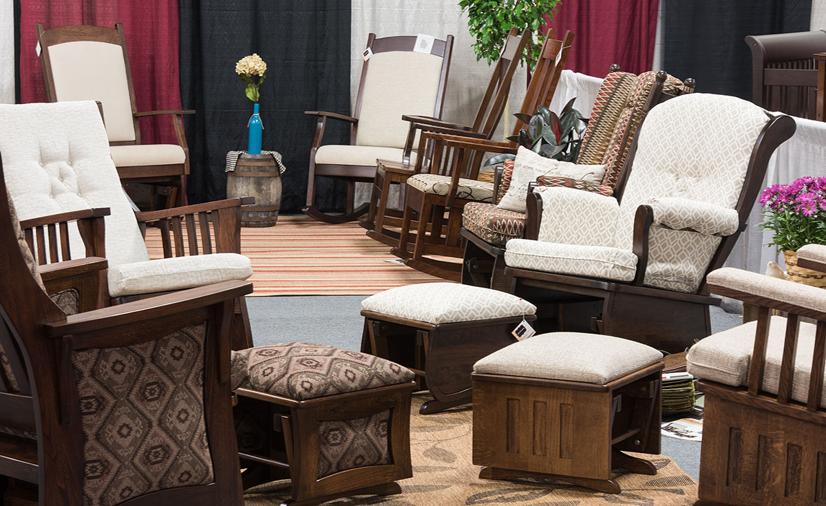 niwa furniture expo northern indiana woodcrafters